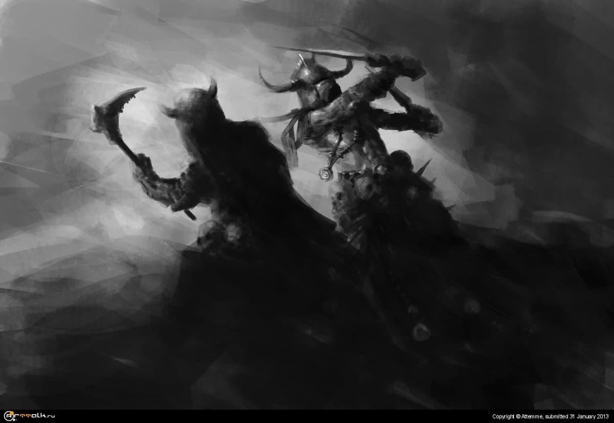 Barbarians Clash