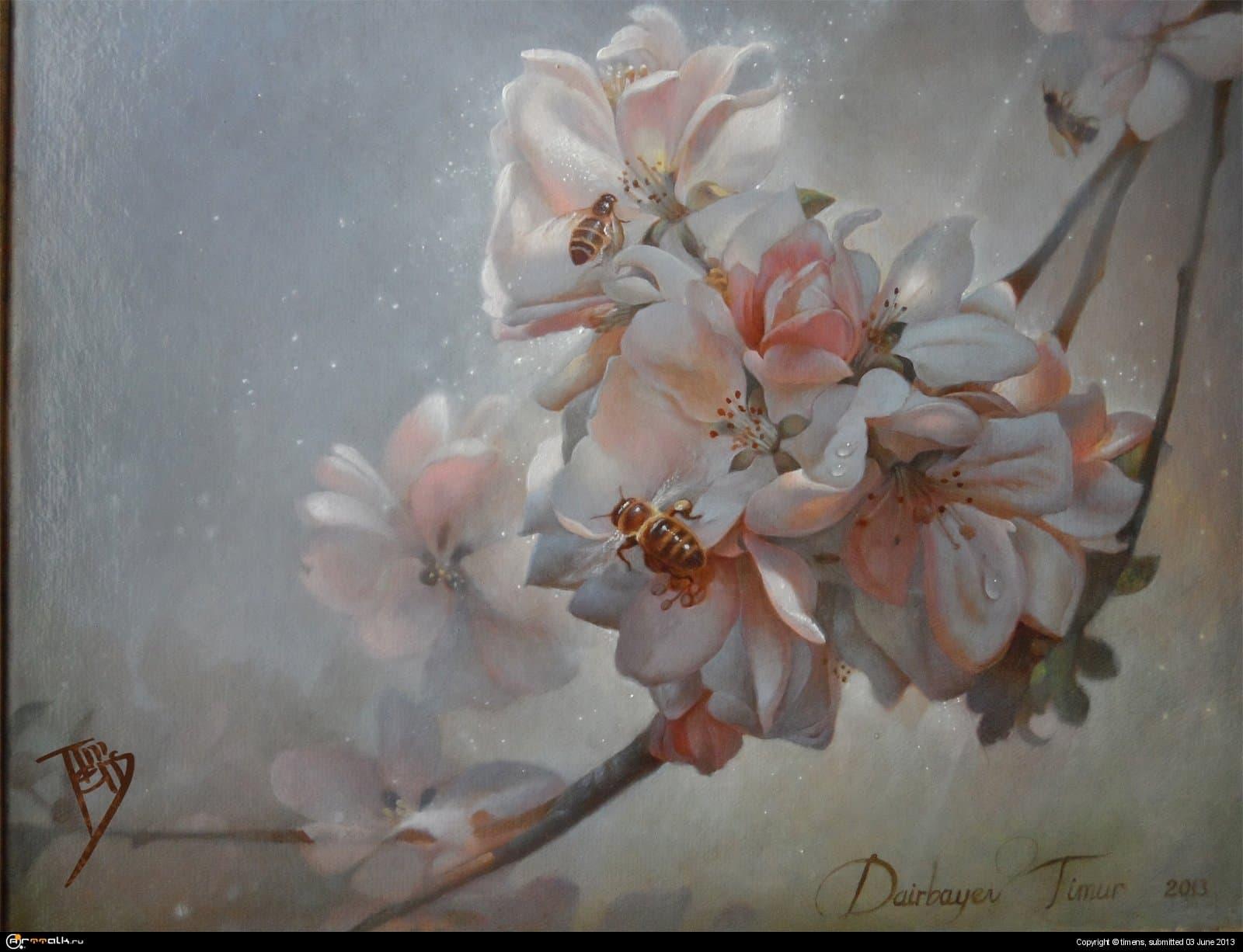 Сон под цветущей грушей