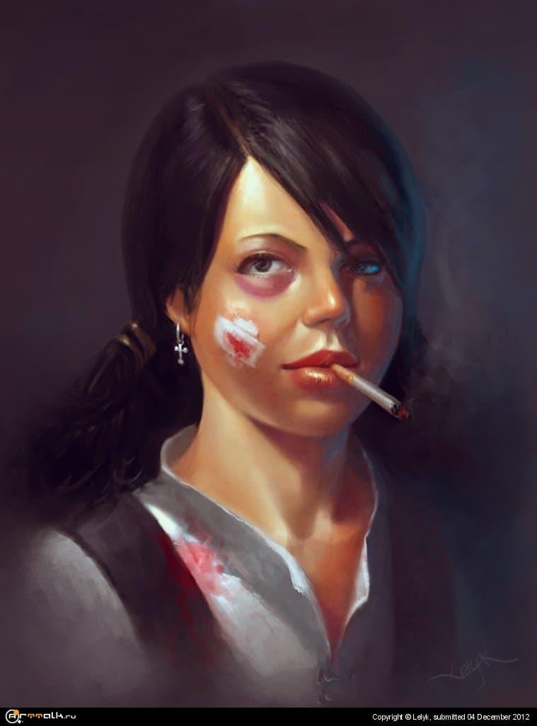 Девочка бандитка