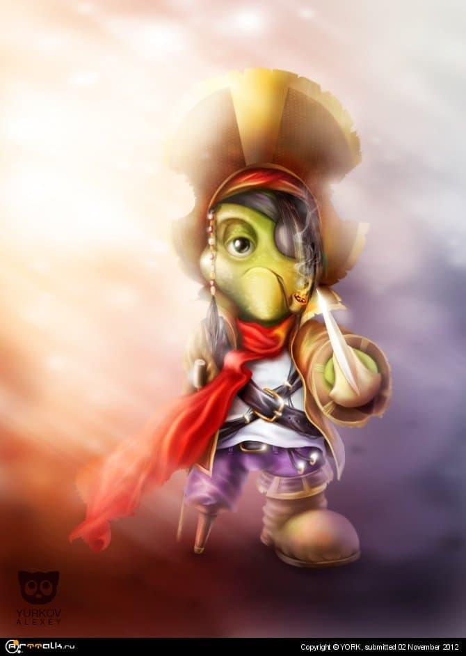 Пират Рептилия