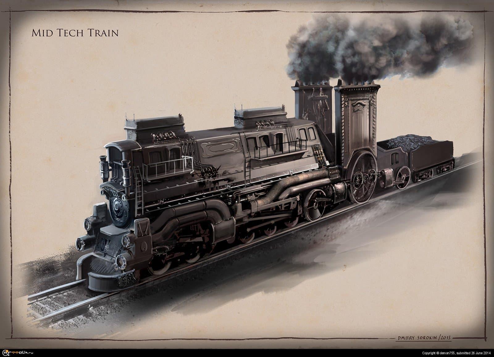 La Revolution 1625. Steam Train