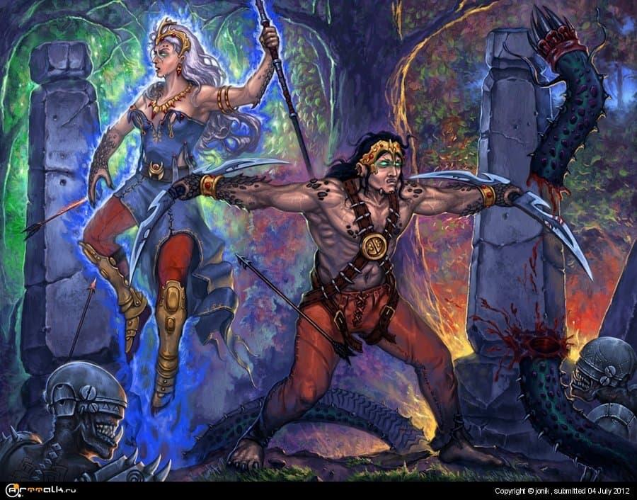 Маг и воин