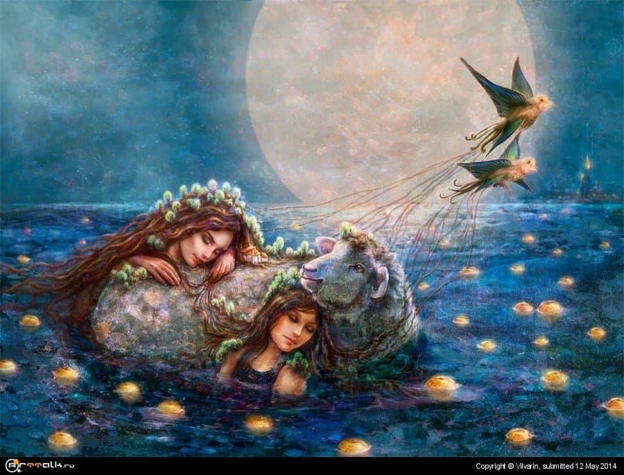 Остров яблочных снов