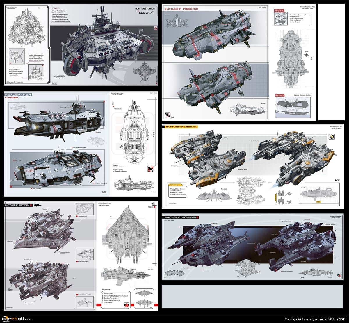 Spaceships Set