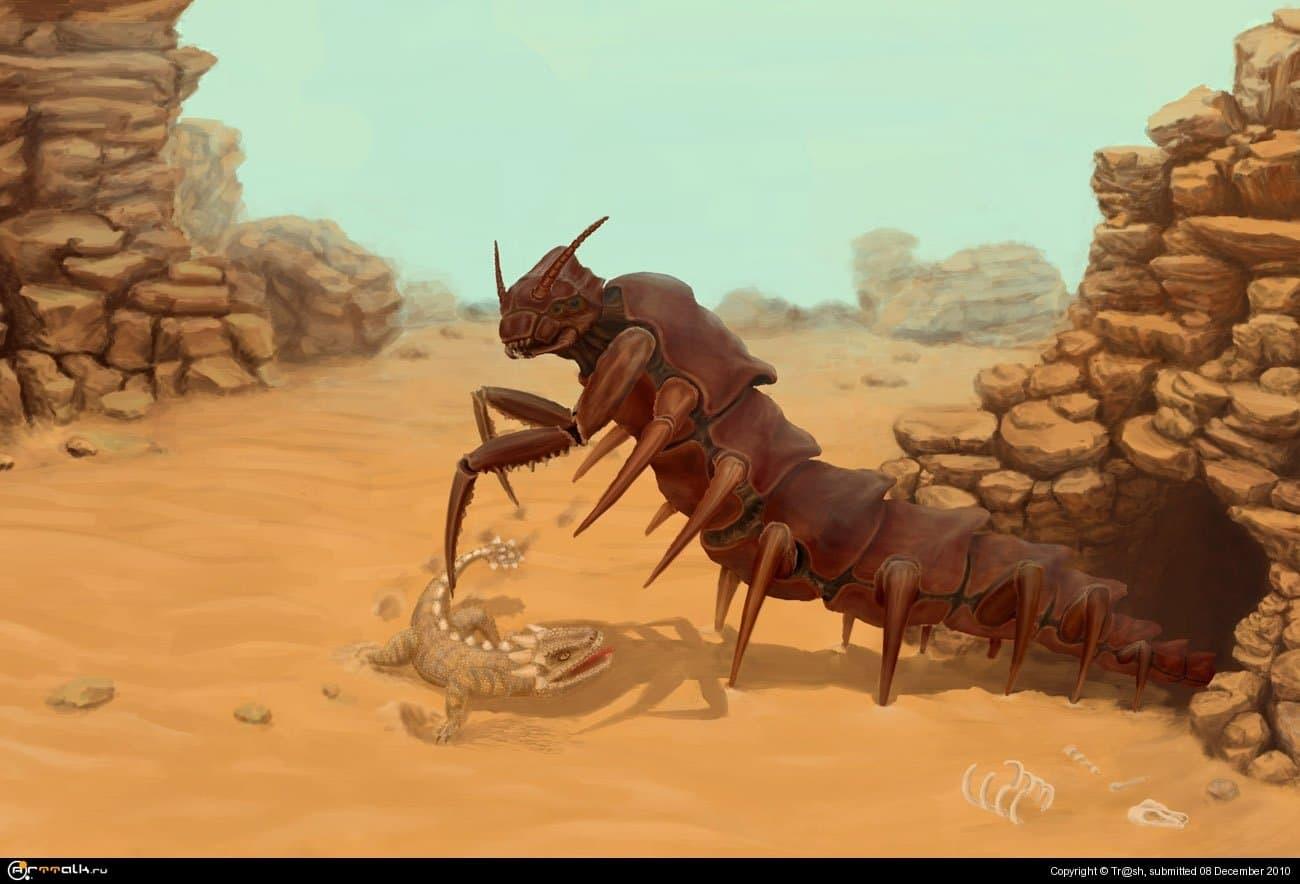 Инопланетная гусеничка