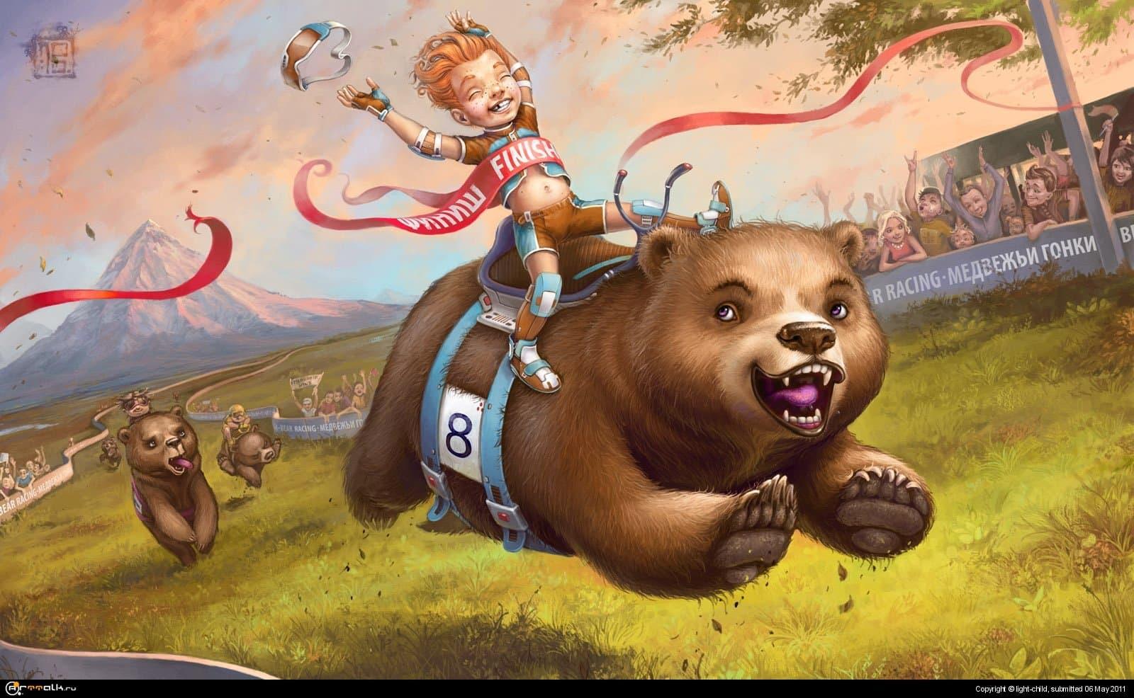 Большая медвежья гонка