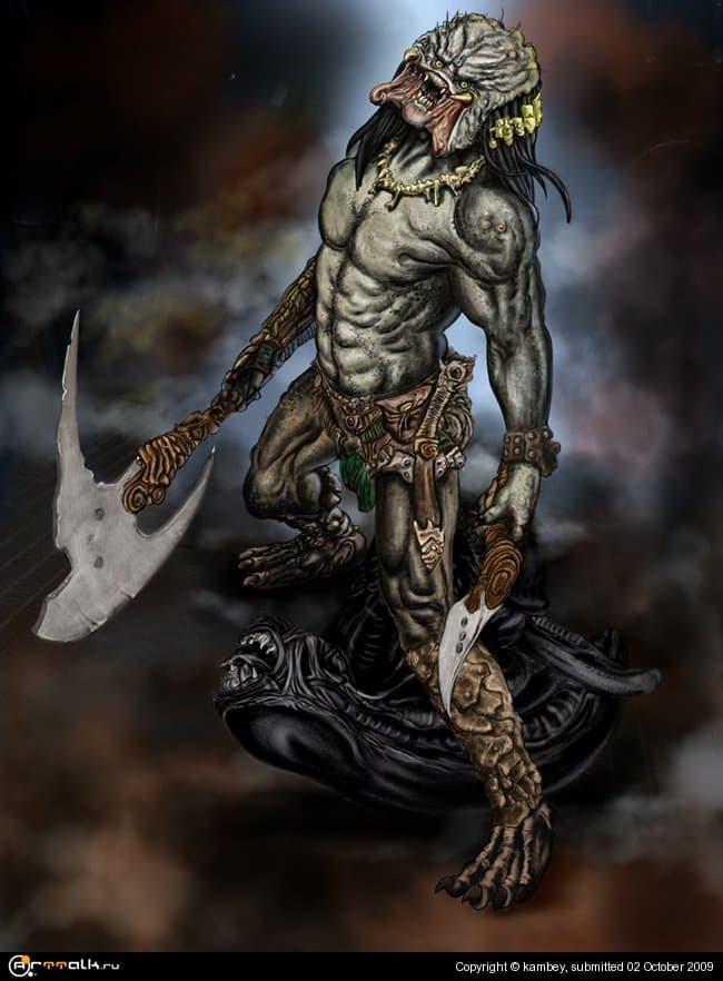 Predator Vs Alien 01