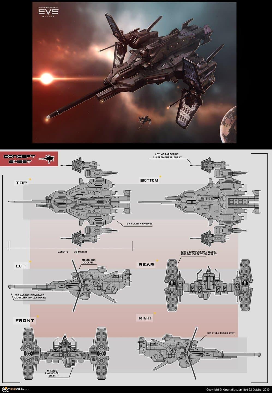 Eve Online Ship(concept)
