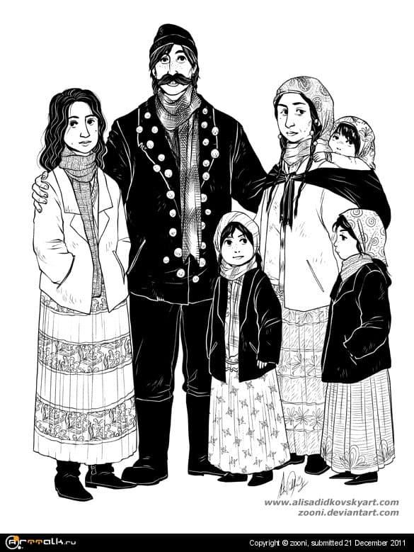 Семья Ферару
