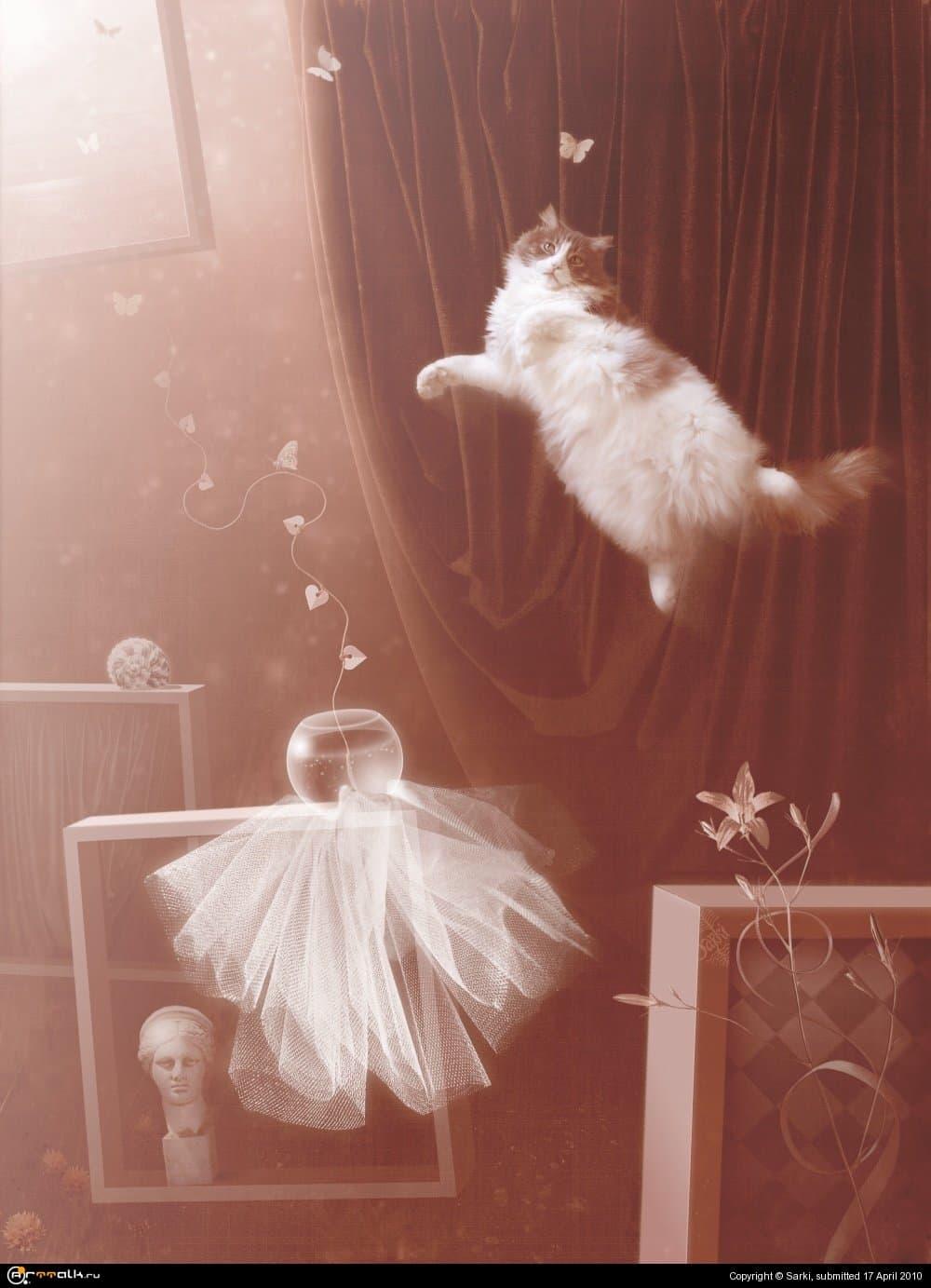 Полёт Мартовского кота или страсть к натюрмортам...