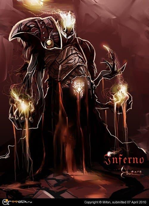 Огненный демон (Инферно)