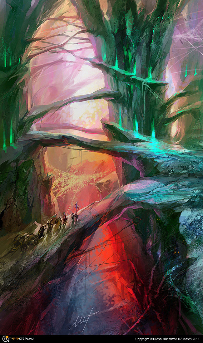Ущелье скалистых лесов