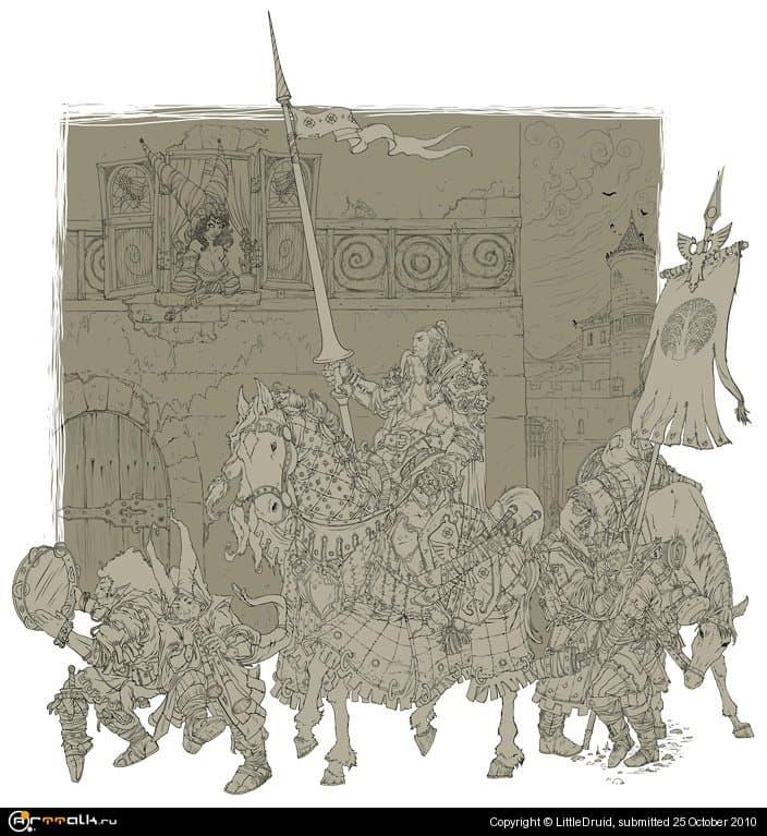 Returning Of Knight