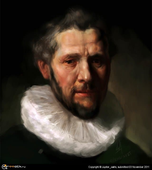 Рембрандт. Копия
