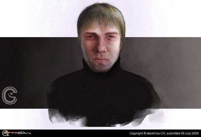 портрет товарища