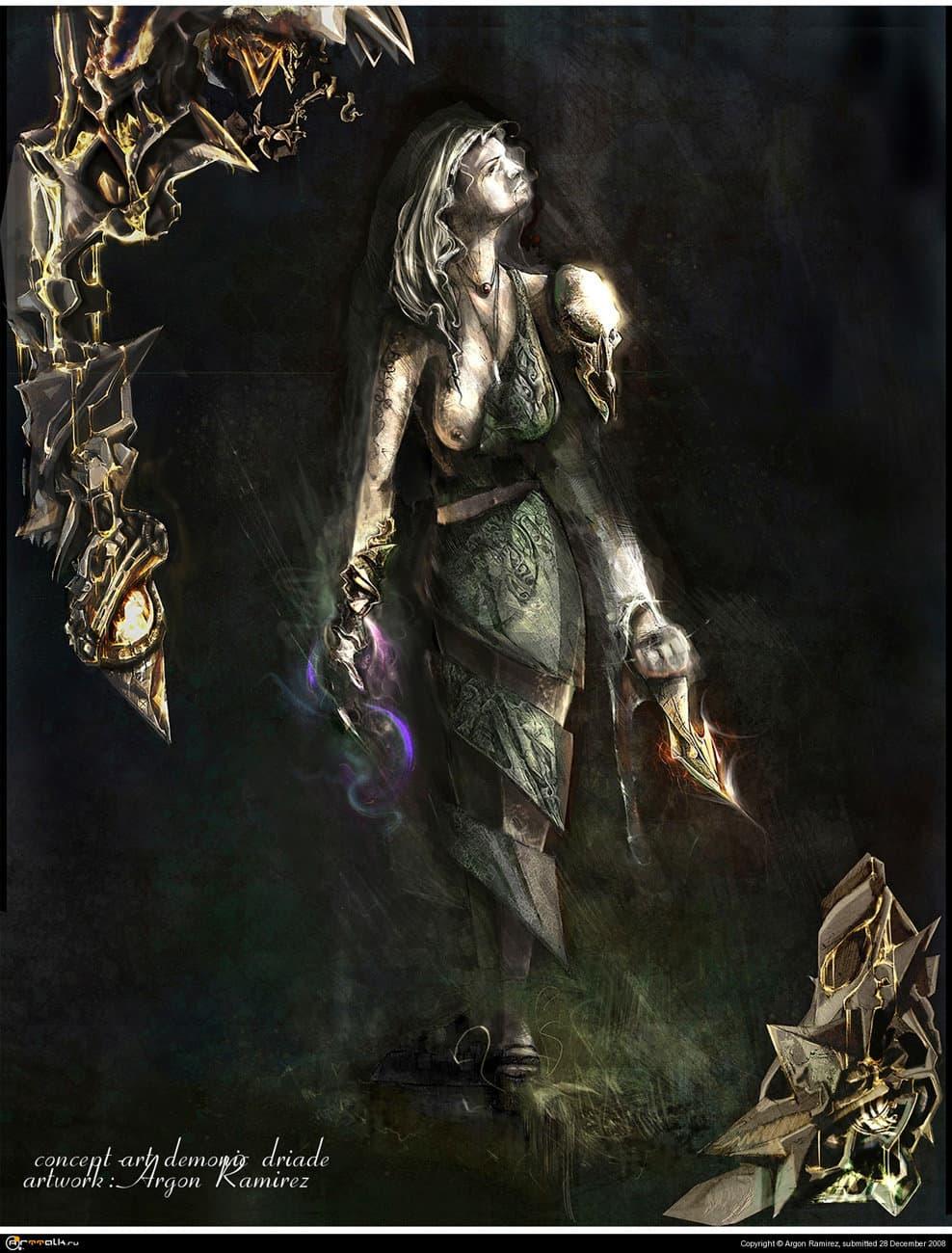 Demonic Driade