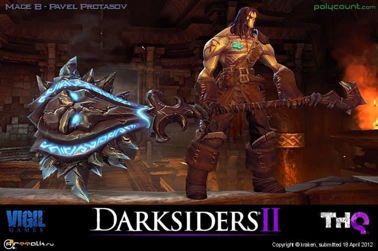 Darksiders Ii  Mace