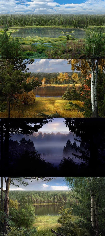 эволюция озера