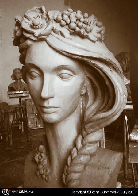 Декоративная скульптура. Этюд.