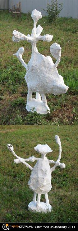 Садово- парковая скульптура