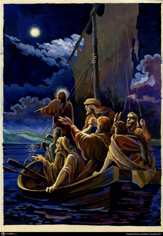 Ход Иисуса по воде