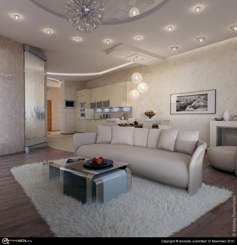Такая вот квартирка.