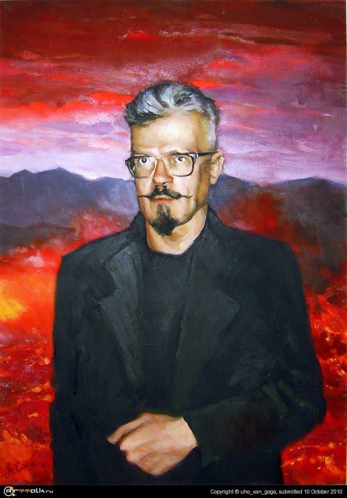 Портрет Эдуарда Лимонова