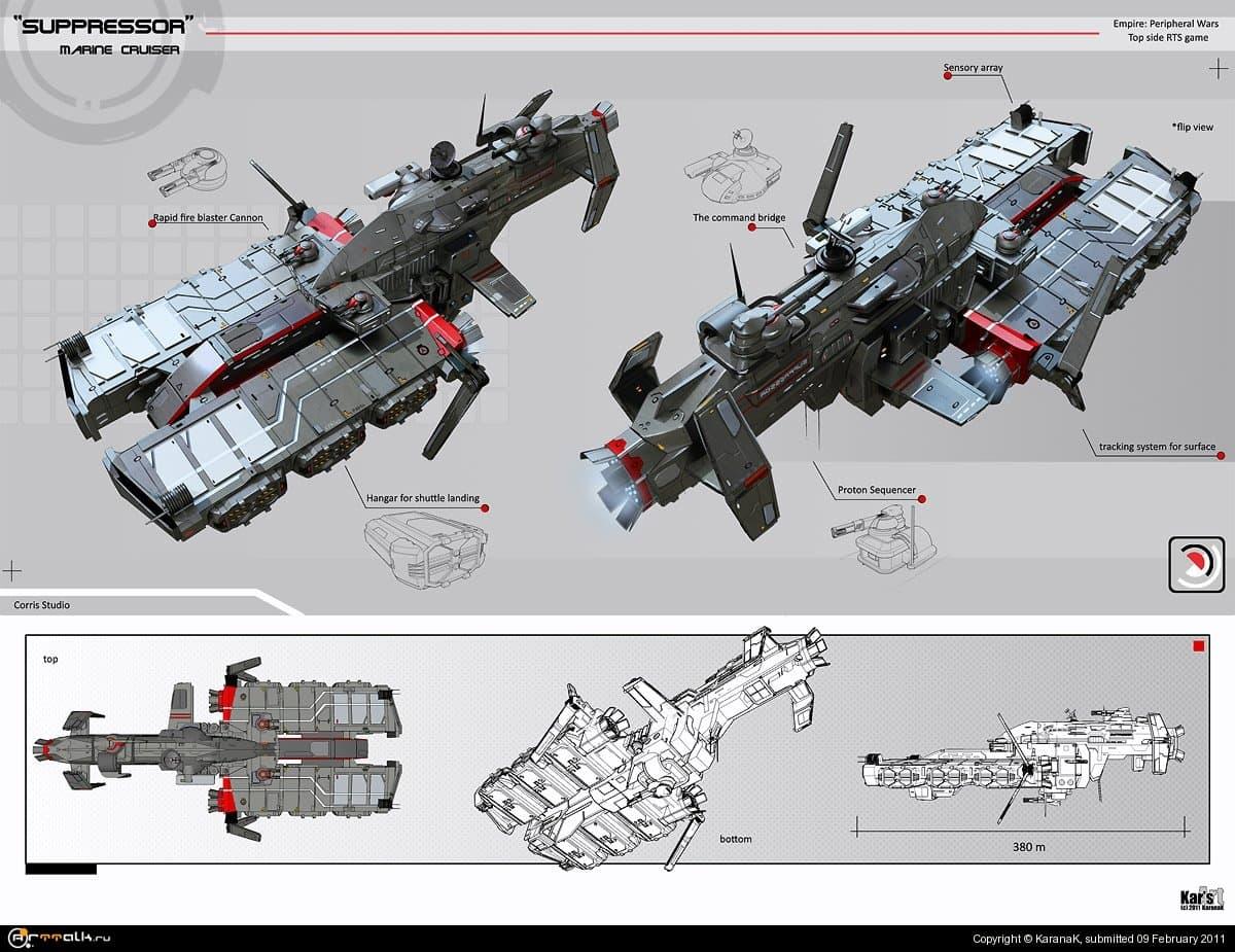 Suppressor Marine Cruiser (concept)