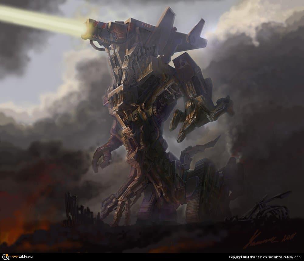 Artillery God Of War
