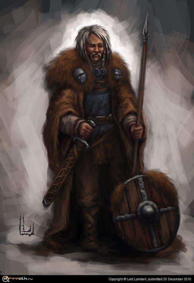 воин викинг