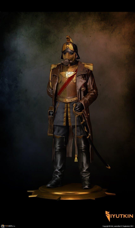 Офицер корпуса смерти Крига