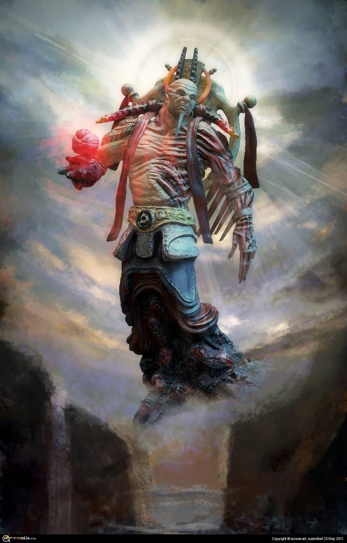 Норох- Бог межмирья