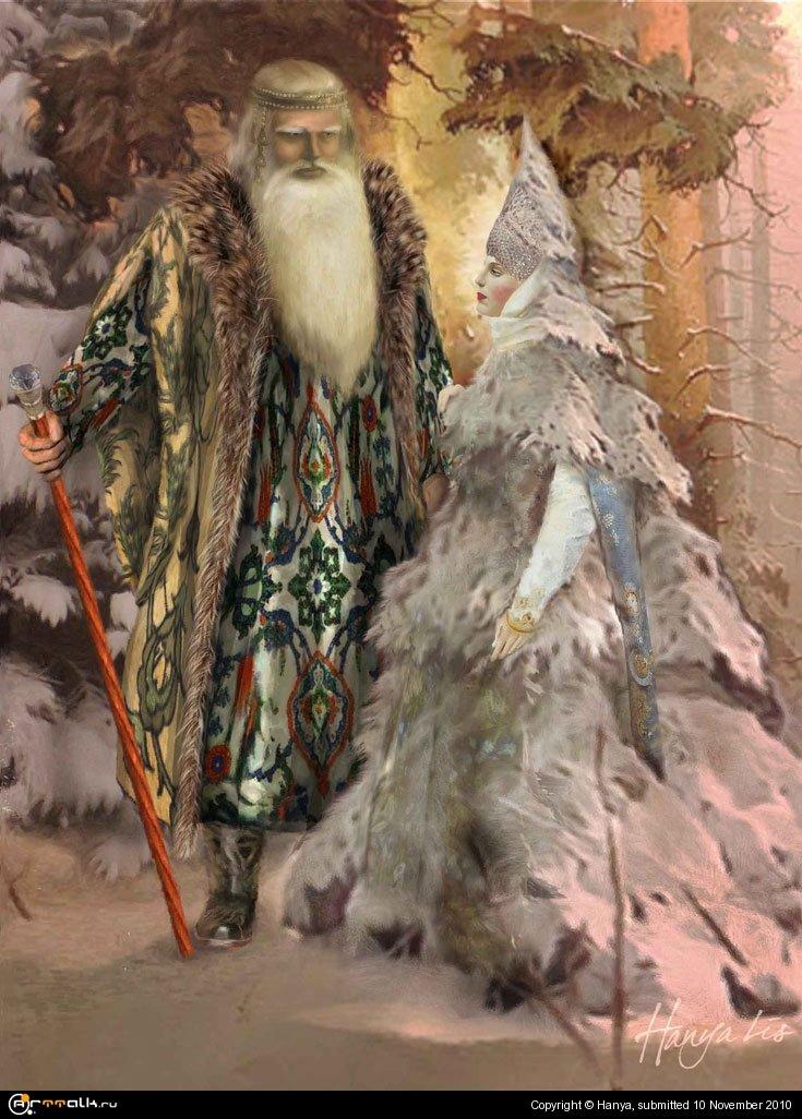 Ёлочка и Дед Мороз