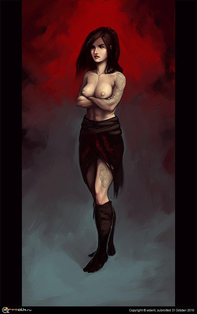 Жена варвара