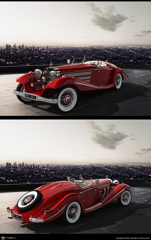 Mersedes-benz 540 K Classic Roadster