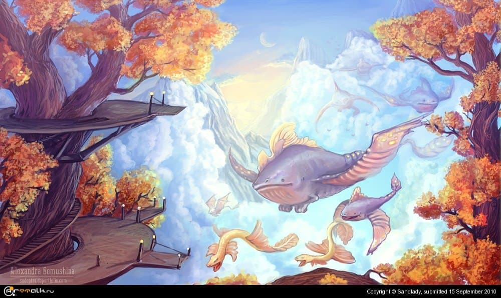 Осенний перелет