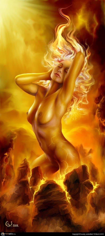 Вулкания-рождение огня