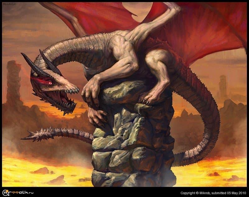 Молодой дракон