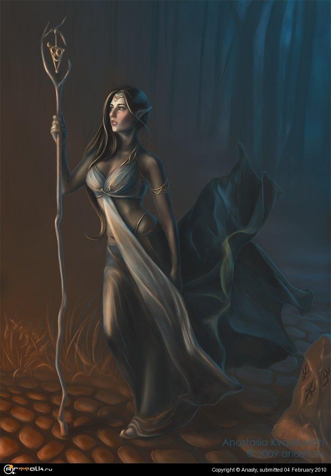 Elven Priest