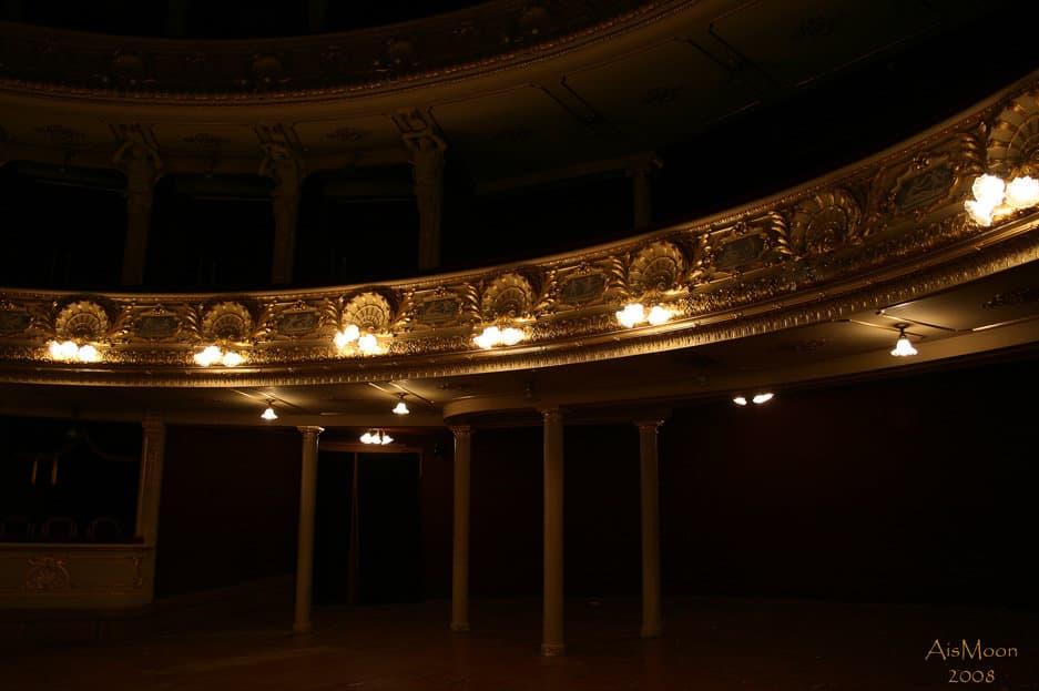 Там бродит призрак оперы… (Оперный театр  г. Львов)