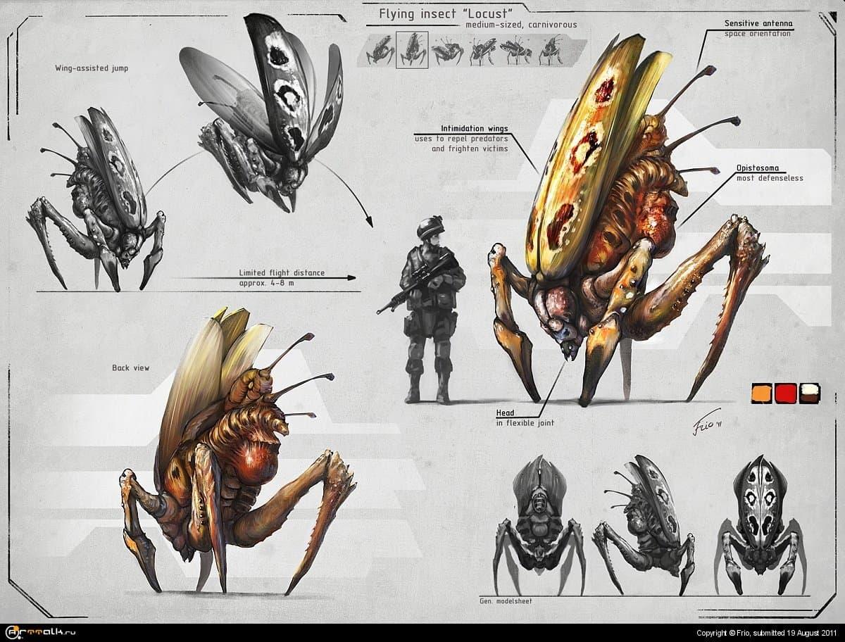 Locust Concept