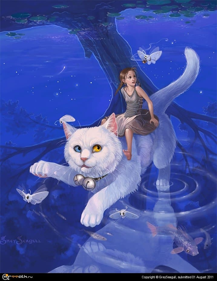 Riding The White Cat