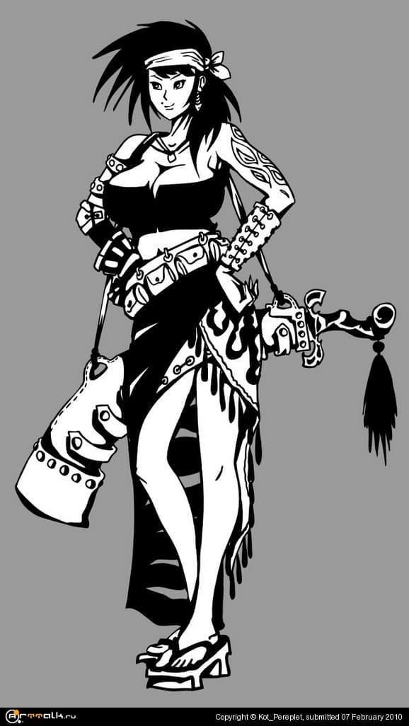 Разбойница