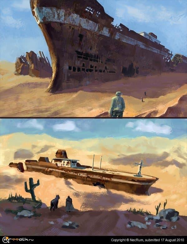 Ship Speedpaints