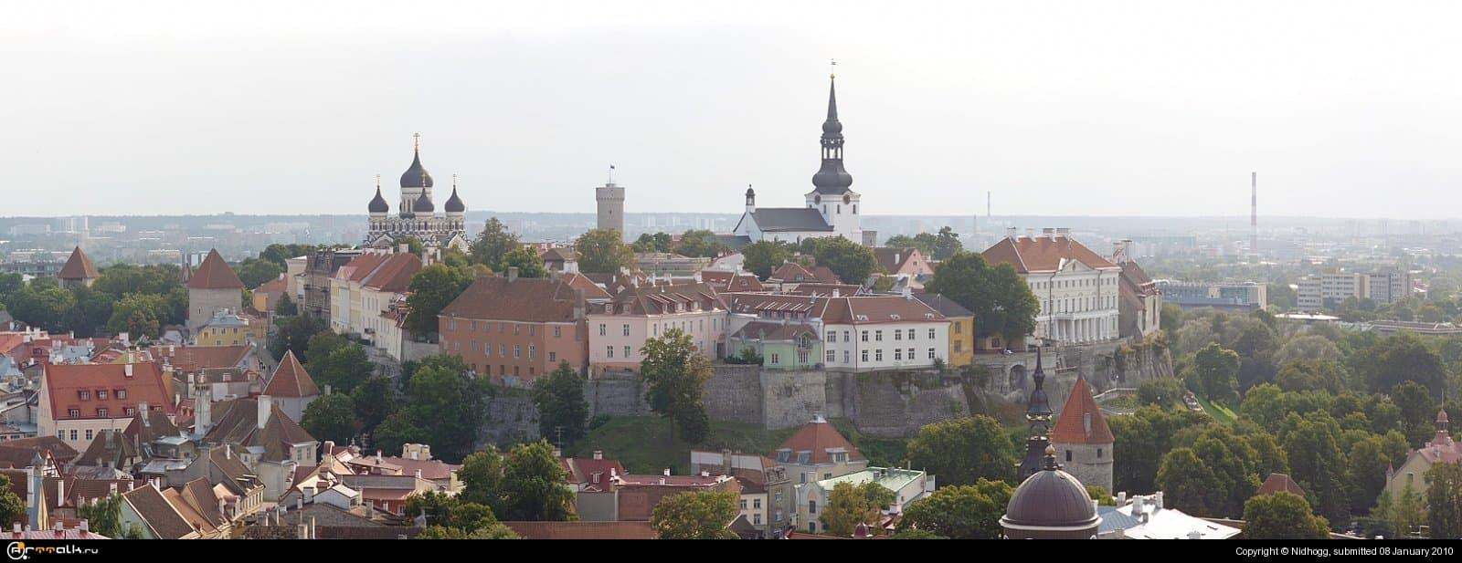 Старый город...