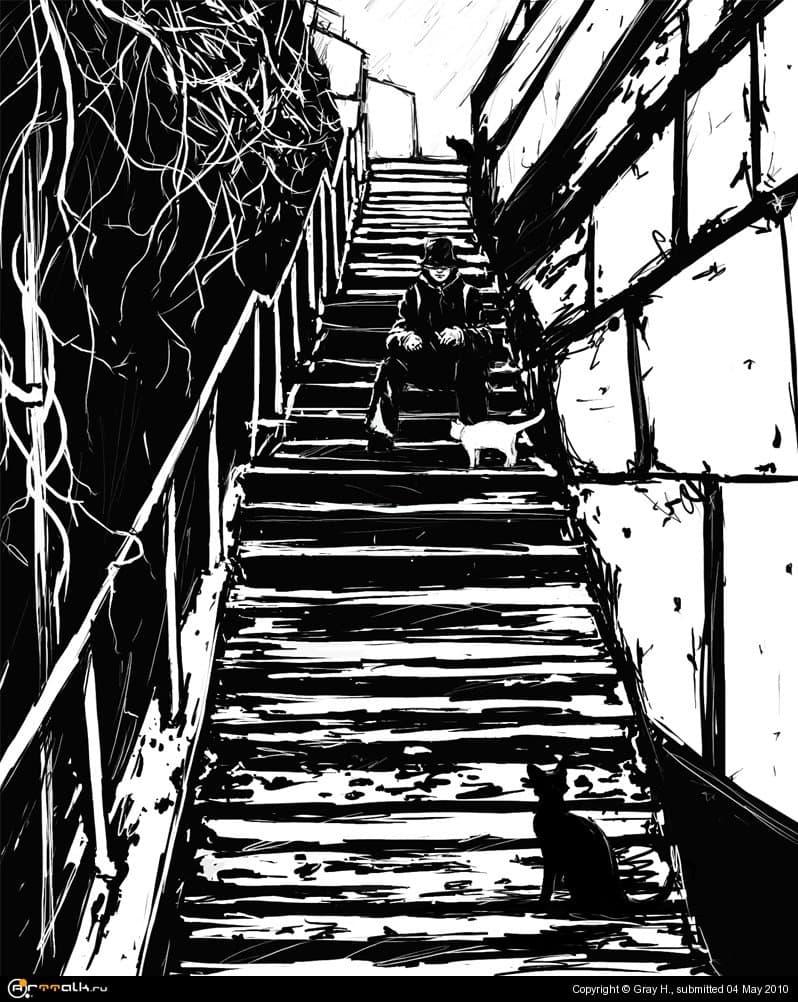 Кошачья лестница