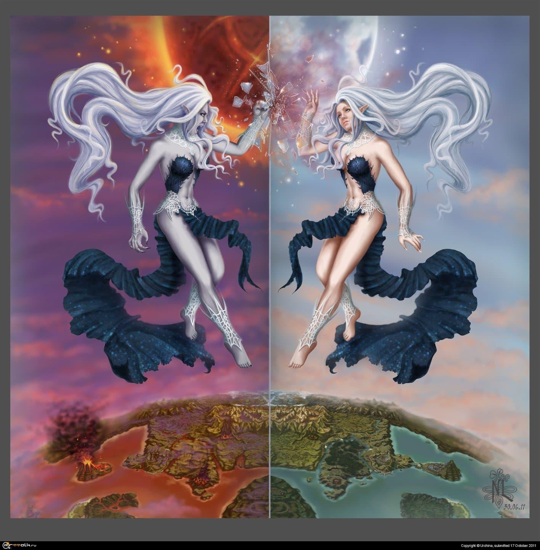 Awakening Of The Goddess (fan-art Lineage 2)