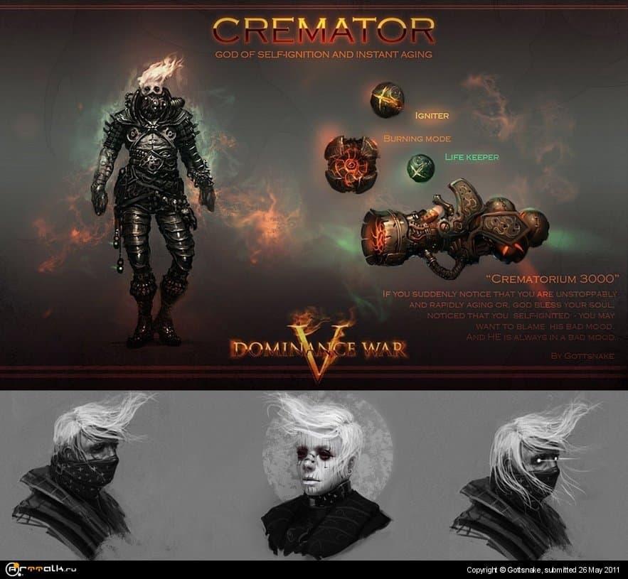 Cremator Concept For Dominance War V