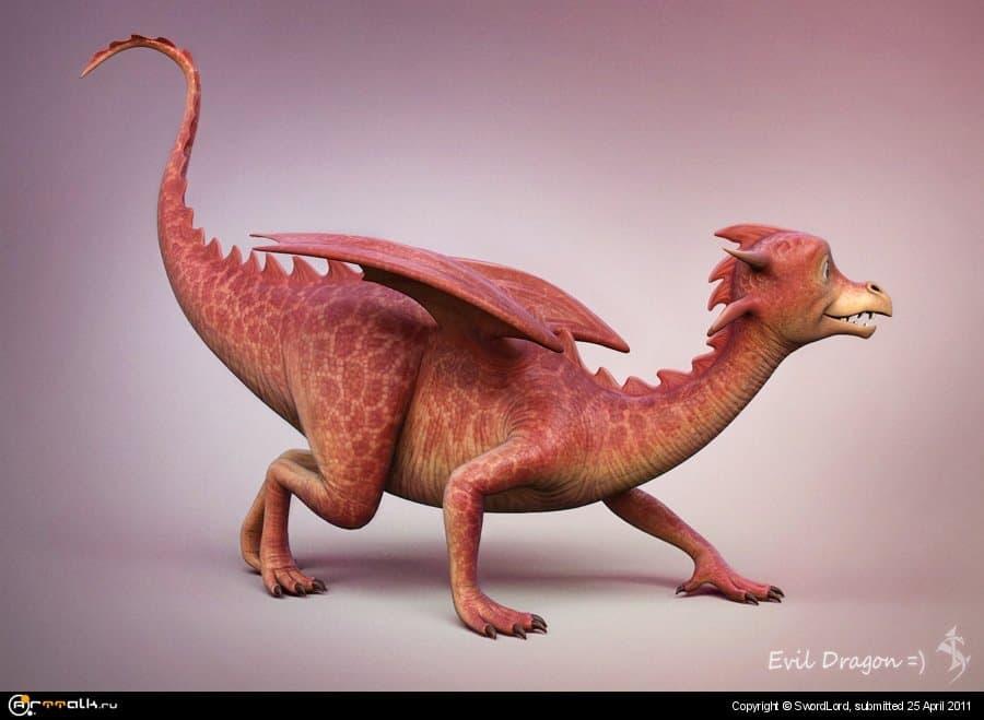 Злой дракон =)