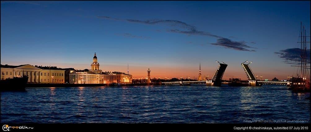 Петербург. Блые ночи